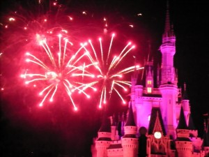 Magic Kingdom Fire Works